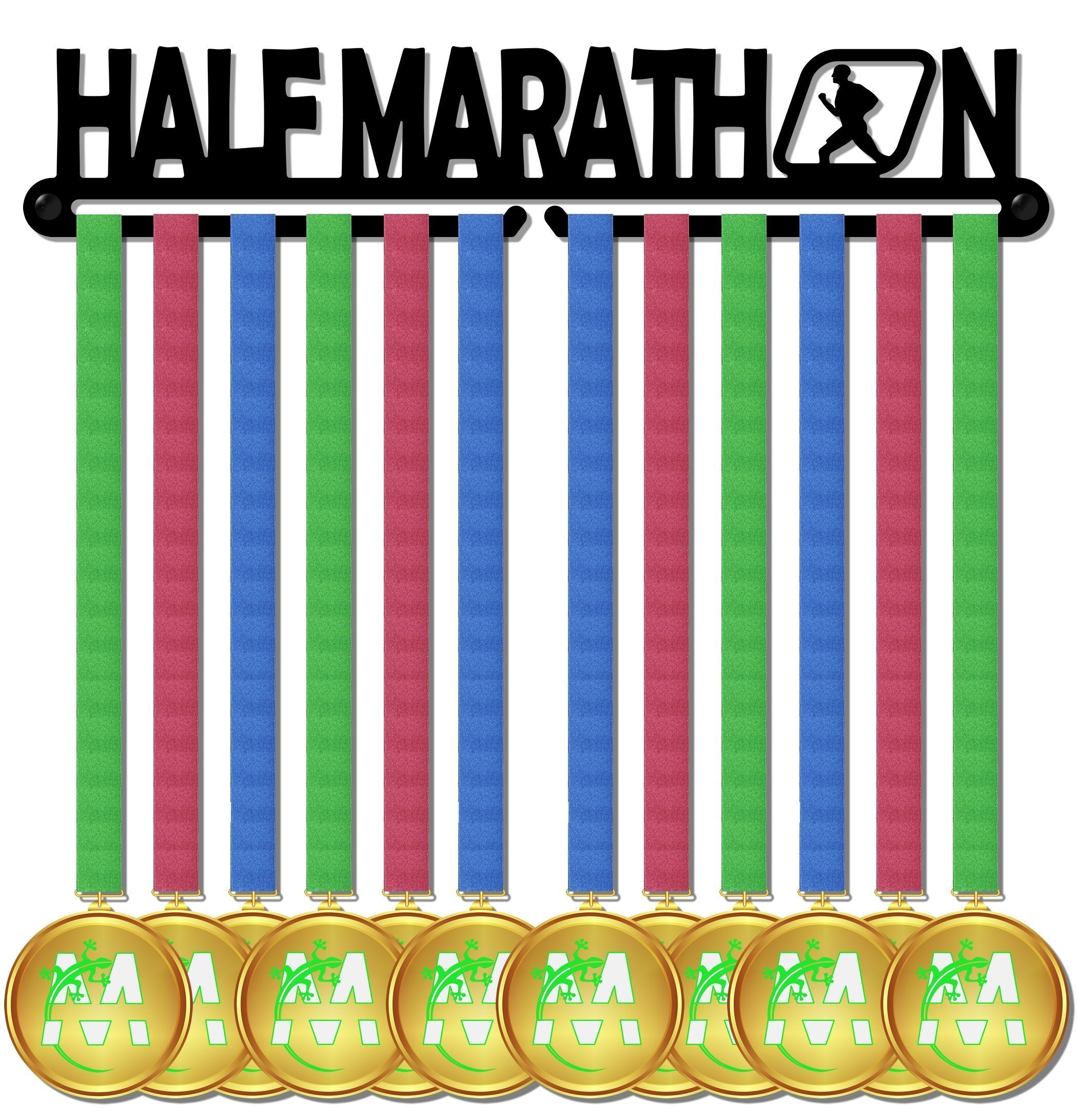 Medal Display medagliere da muro madal hanger half marathon design