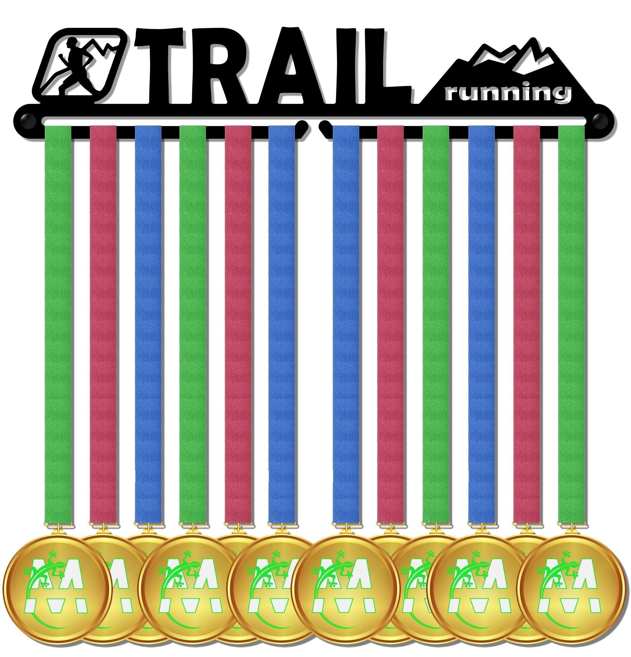 Medal Display medagliere da muro medal hanger trail running design